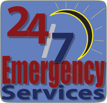 Emergency flood services, water damage