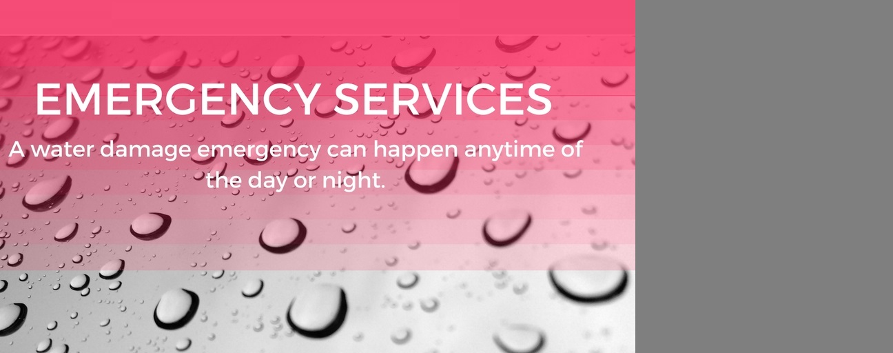 EMERGENCY Flooding SERVICES