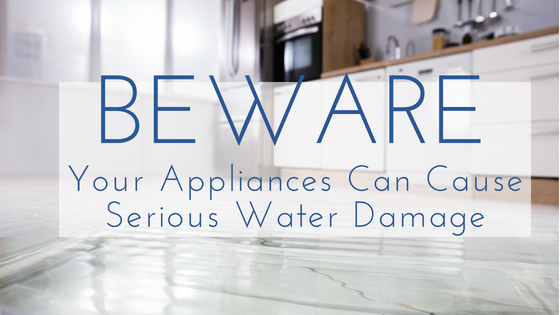 Beware of leaky applicances